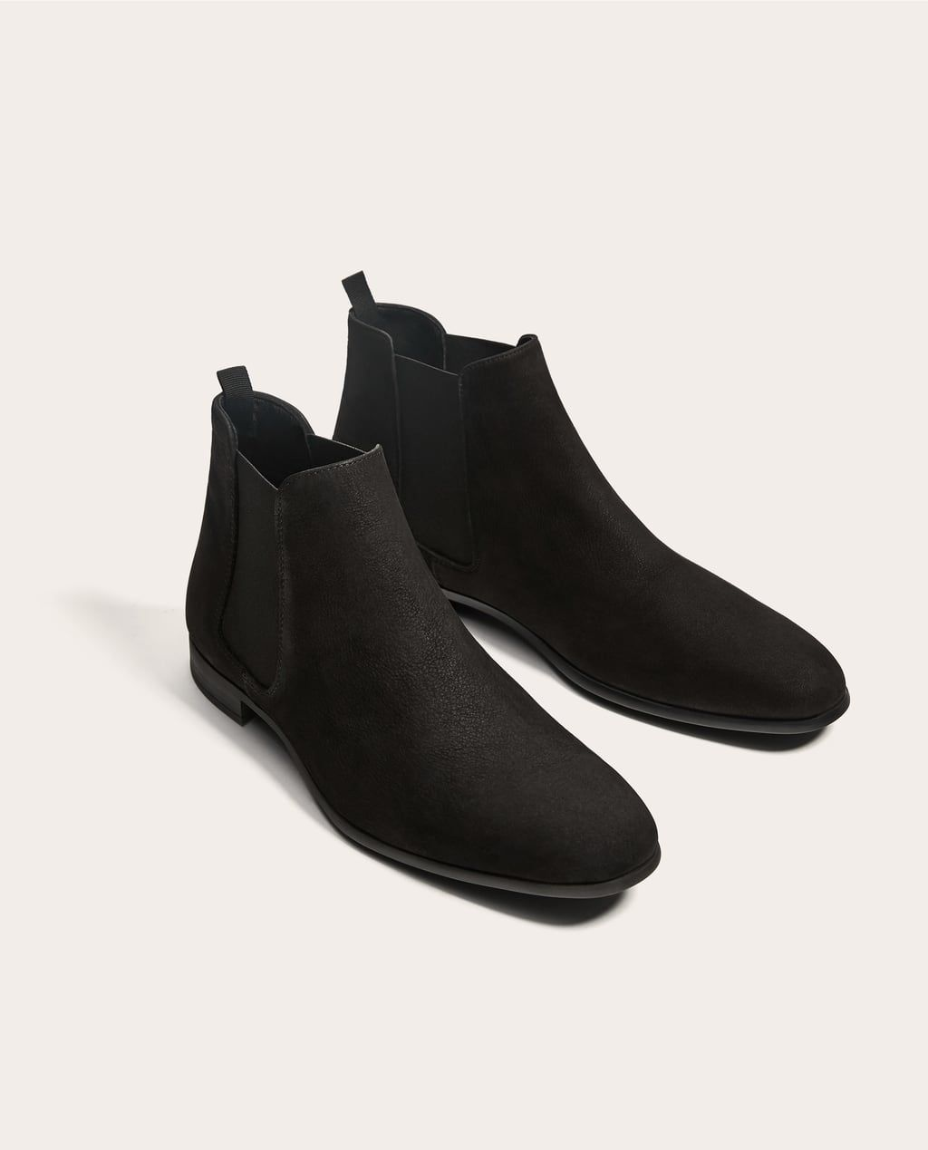 0c184548b01 BLACK LEATHER ANKLE BOOTS-Boots and Ankle Boots-SHOES-MAN | ZARA ...
