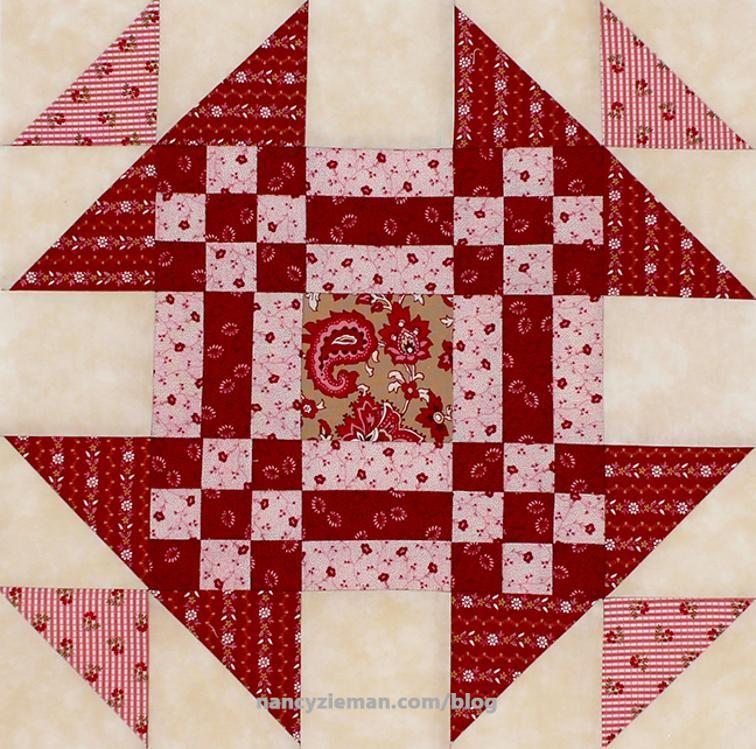 Fat Quarter Mystery Quilt: January Block | Craftsy