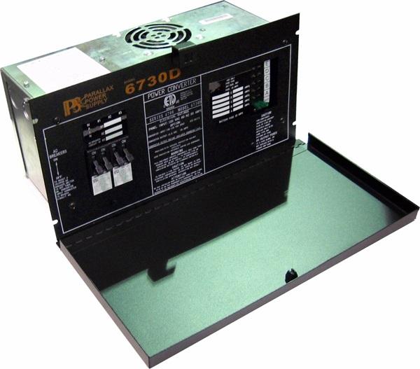 Parallax 6730d 30 Amp Power Center W Door Rv Power Converters Rv Parts