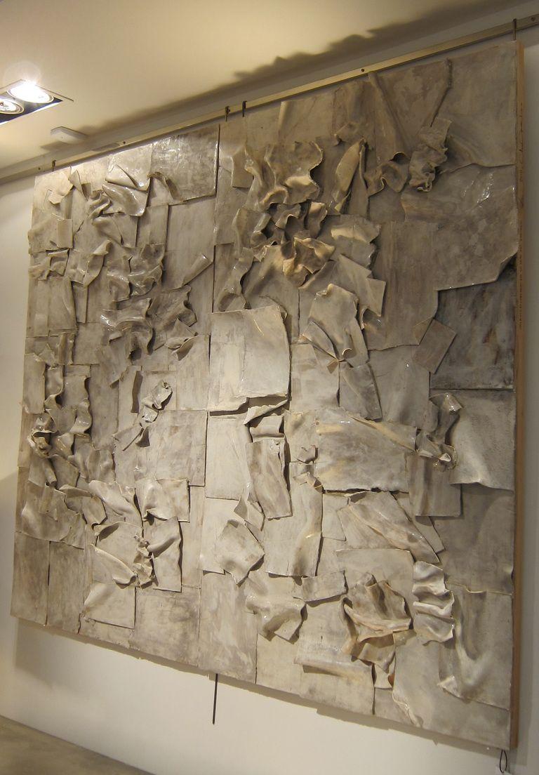A ceramic wall sculpture by clara graziolino pinterest