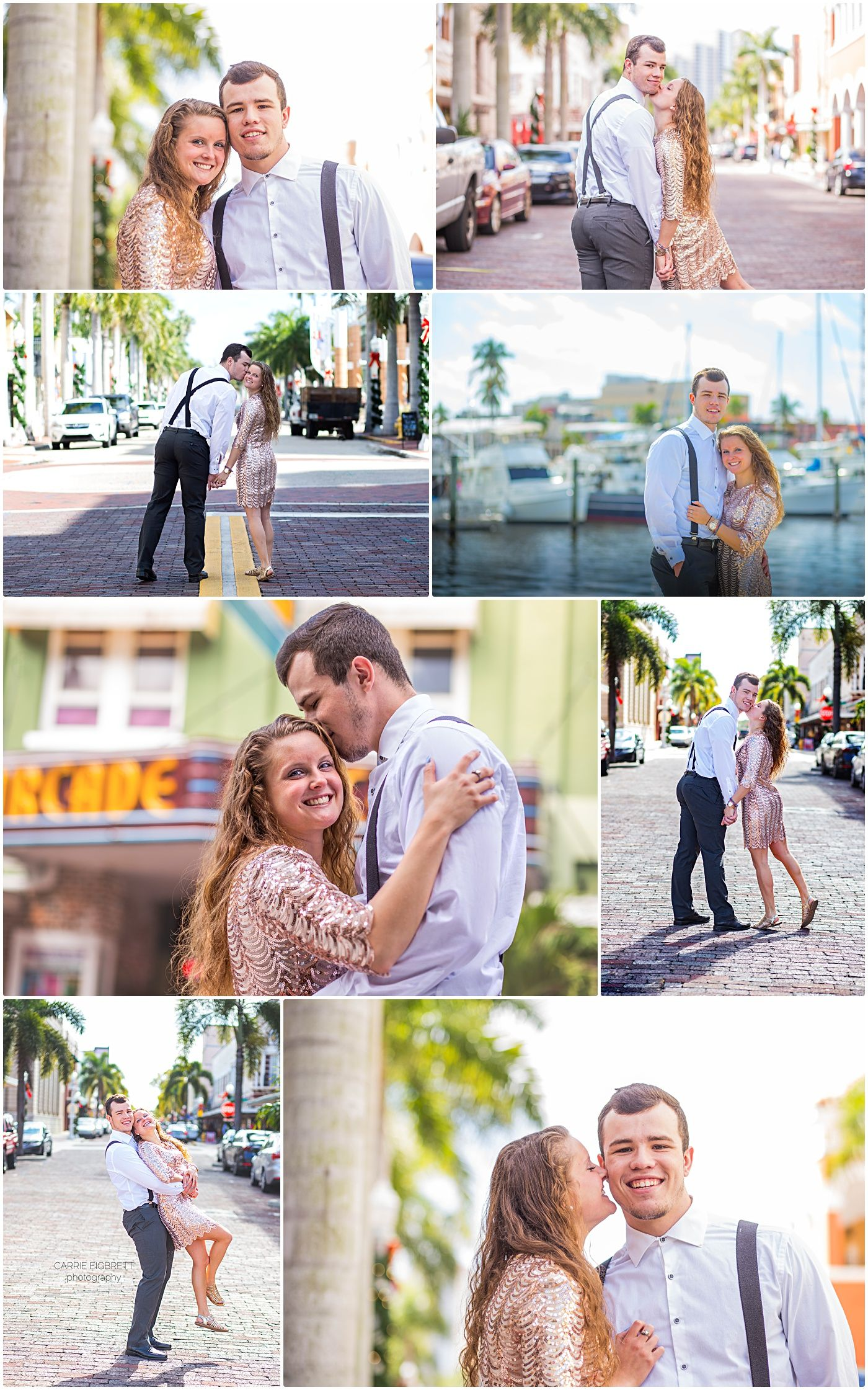 Bailey and Alana in Downtown Historic Fort Myers! ⋆ Carrie ...