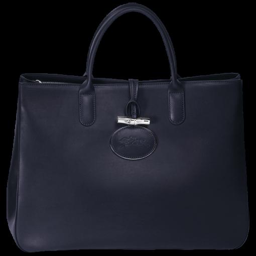 Shopper L - Roseau Héritage - Taschen - Longchamp - Marineblau ...