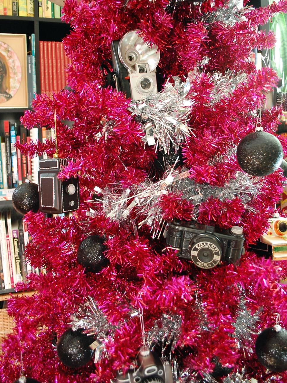 Delightful Camera Christmas Tree Ornament Part - 10: 10 Totally Outrageous Retro Christmas Trees