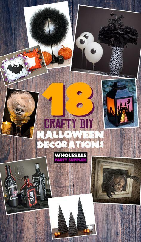18 DIY Decorations for your Halloween Party Diy outdoor halloween