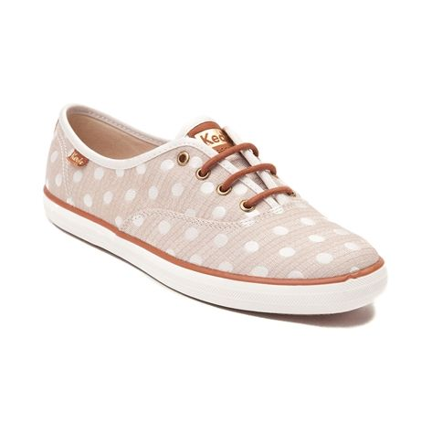 Showcase your wild style with the new Champion Jacquard Dot Casual Shoe  from Keds! Lace