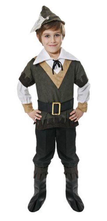 Fancy Dress Toddler Peter Pan Costume Book Week Boys Outfit