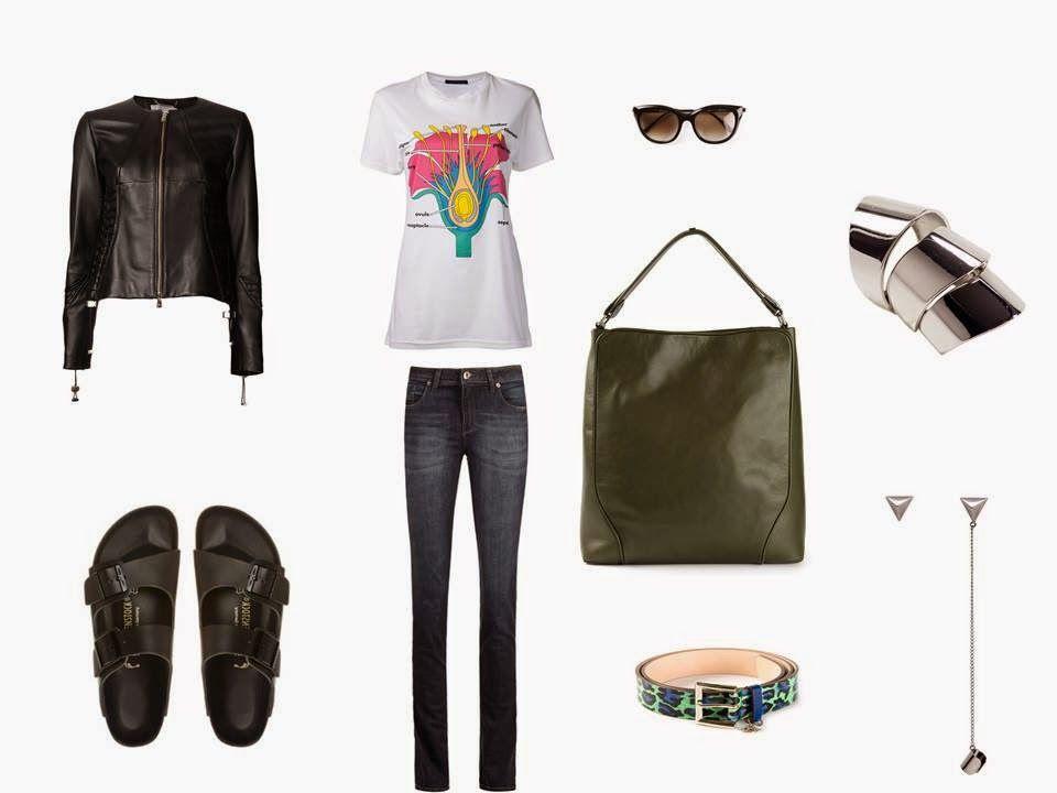 Look com uma pegada super esportiva, combinando jeans + t-shirt + birken. Ótima opção para o dia e pra quem sempre prioriza conforto. Mais em www.marinabruno.com.br
