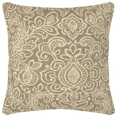 Garden Treasures Neutral Stencil Outdoor Throw Pillow Lowe's New Lowes Outdoor Decorative Pillows