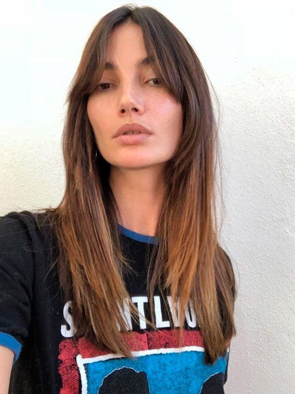 Hair Trend Curtain Bangs In 2019 Hair Hair Trends