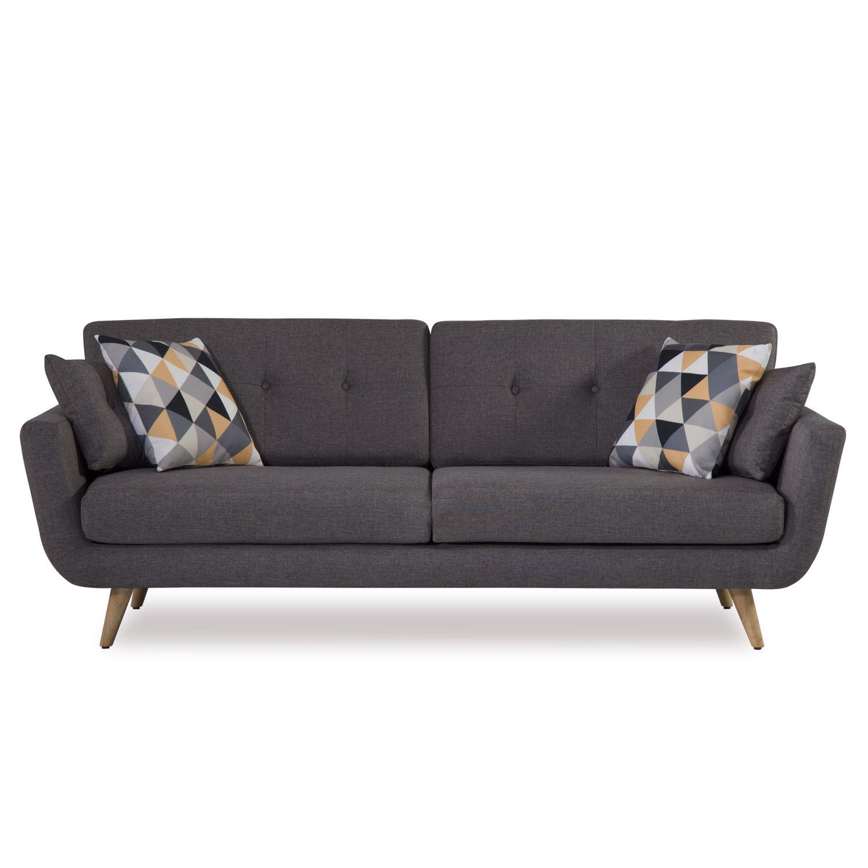 Wonderful The Range Sofa Beds Part - 12: Zara 3 Seater Sofa - £399.99