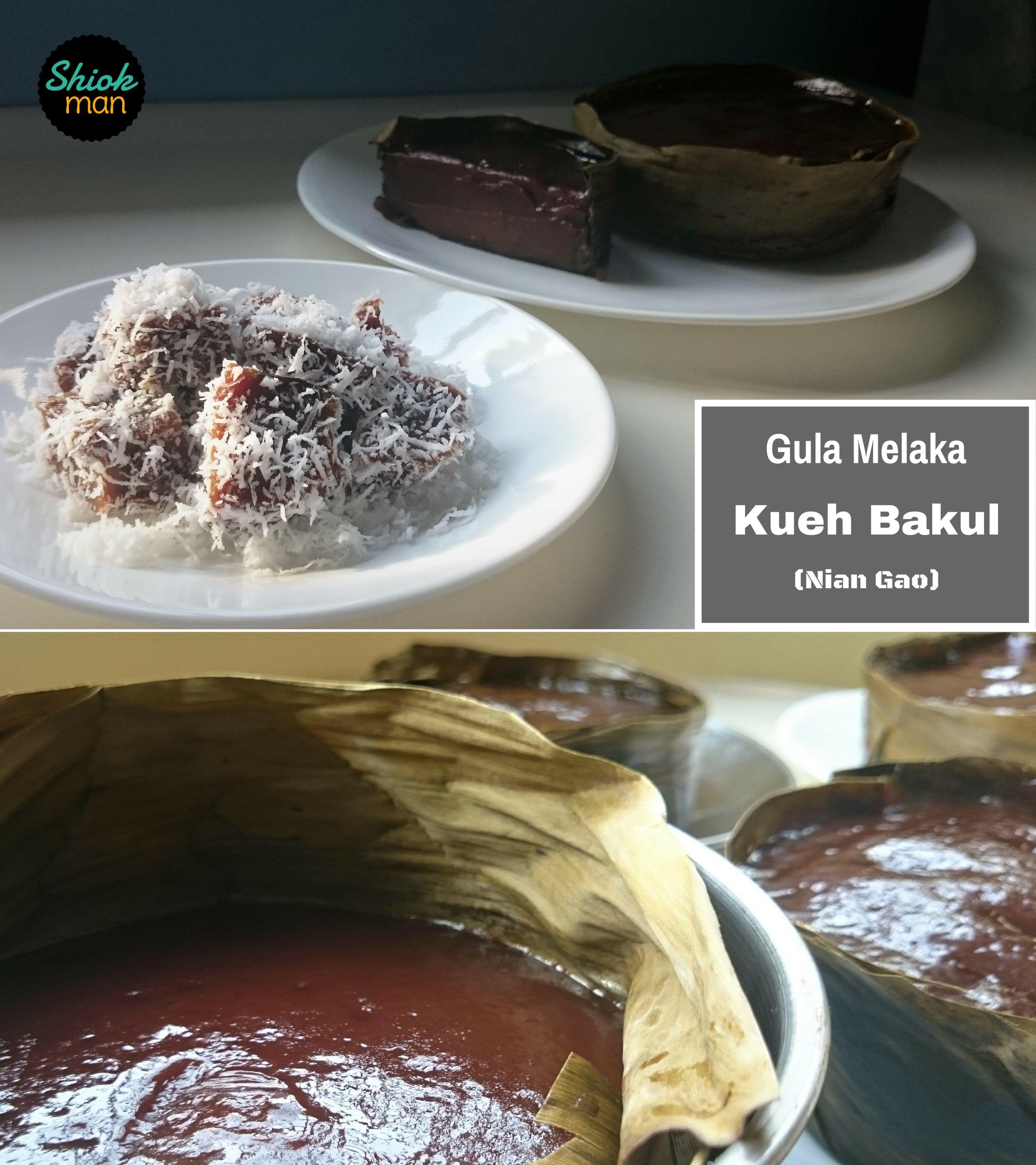 Kueh Bakul Nian Gao With Gula Melaka Shiokman Recipes Recipe Steamed Cake Food Blog How To Make Cake