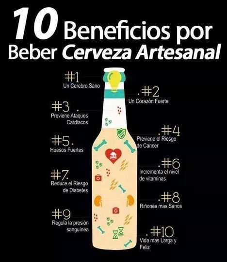 10 Beneficios Por Beber Cerveza Artesanal Cerveza Cerveza Casera Cerveza Artesanal
