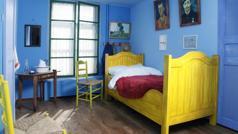 Dormir dans un tableau de Van Gogh | Idée chambre, Van gogh ...