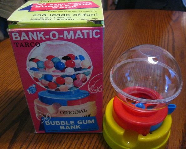 Bubble Gum Machine - I had one of these