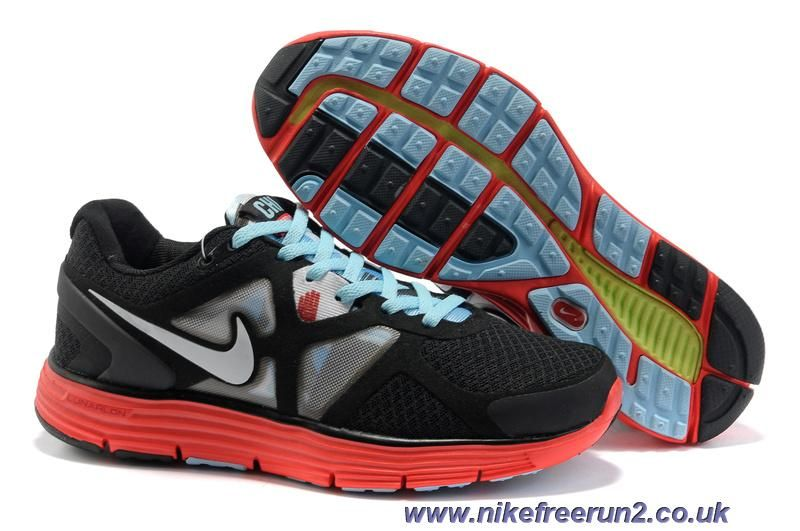 482931-015 City Pack Chicago Womens Nike Lunarglide 3 Black Red Blue Online