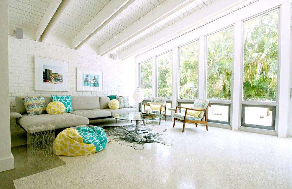 Staggering Terrazzo Floors Decorating Ideas For Living Room