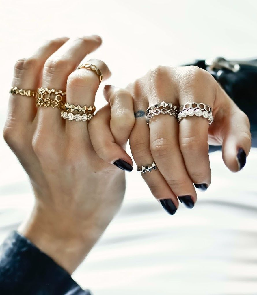 c85a8254a7f82a Stacking rings is very trendy. What's your story? Head to  www.maisonbirks.com to get yours!