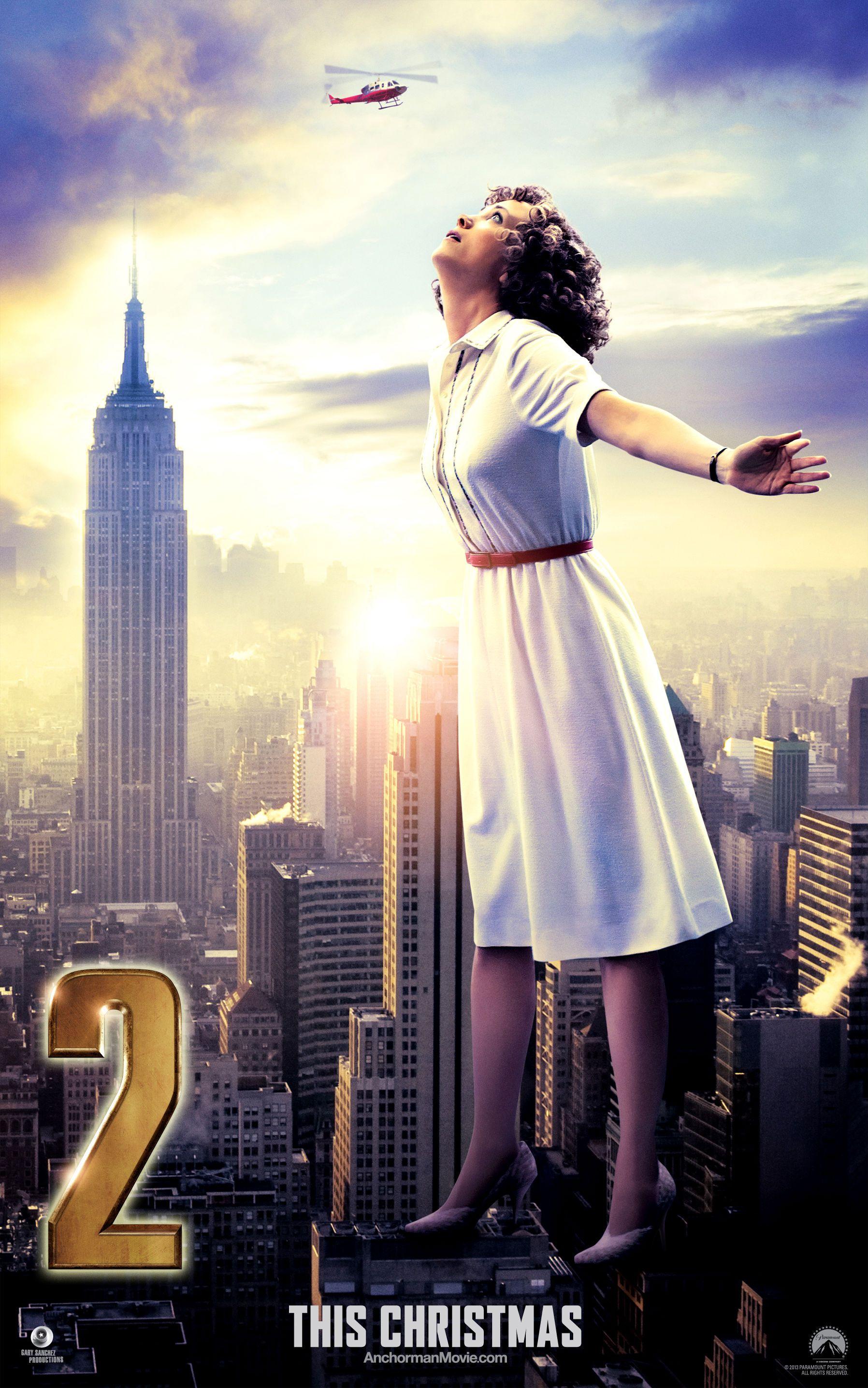 Anchorman 2 Character Posters Kristen Wiig Soars Anchorman 2