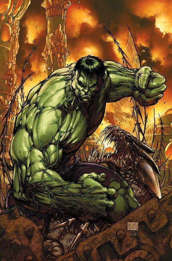 #Hulk #Fan #Art. (INCREDIBLE HULK #100 VARIANT COVER) By: Michael Turner. ÅWESOMENESS!!!™ ÅÅÅ+