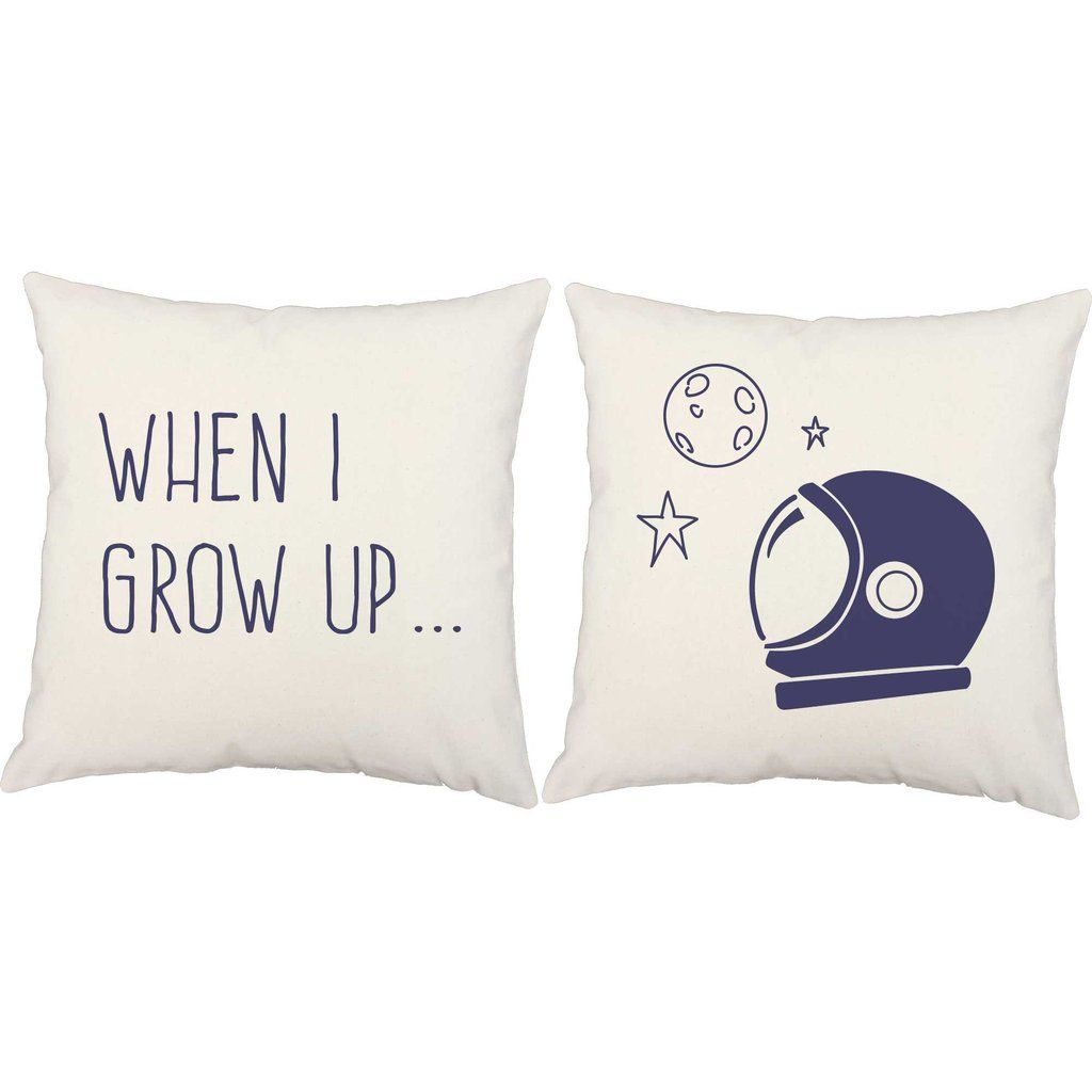 I Want To Be An Astronaut Throw Pillows