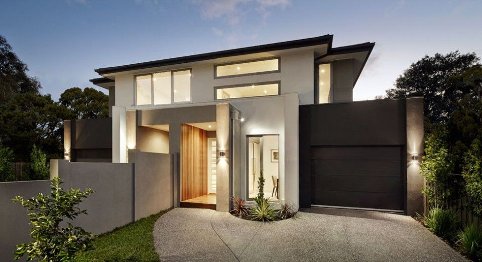 Contemporary Duplex By Carter Grange Melbourne Click On