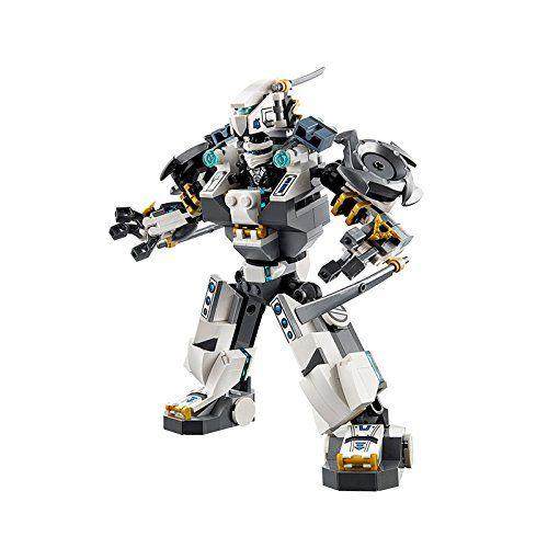 Lego 70737 Ninjago Titanroboter Gegen Mech Enstein Amazon De Spielzeug Lego Ninjago Lego Cooles Lego