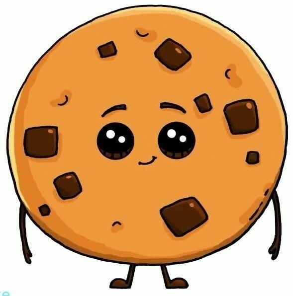 Cookie Fofo Da Vontade Fe Apertar Desenhos Kawaii Kawaii