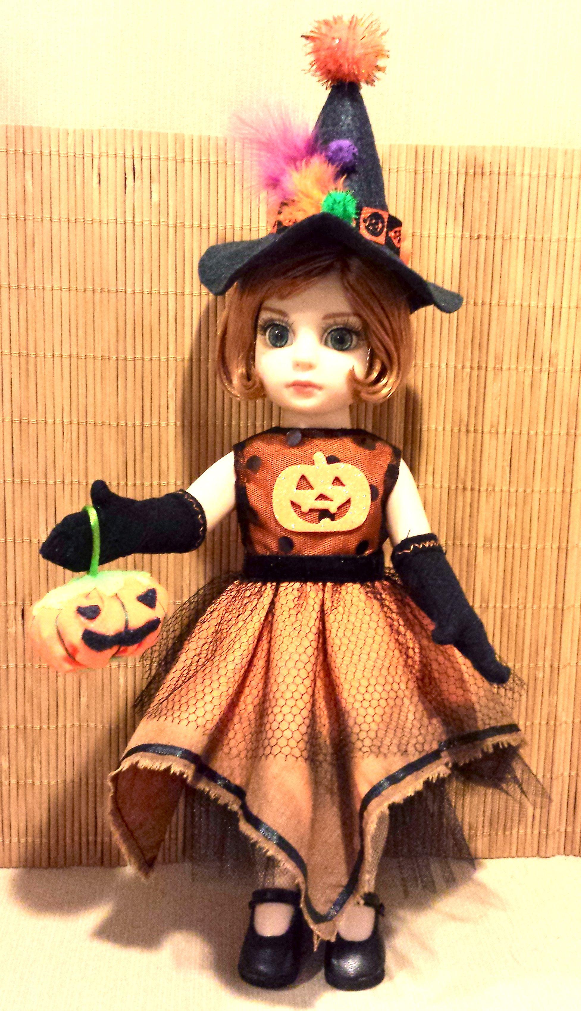 Patsy, Ann Estelle Halloween Witch Dye Costume Set