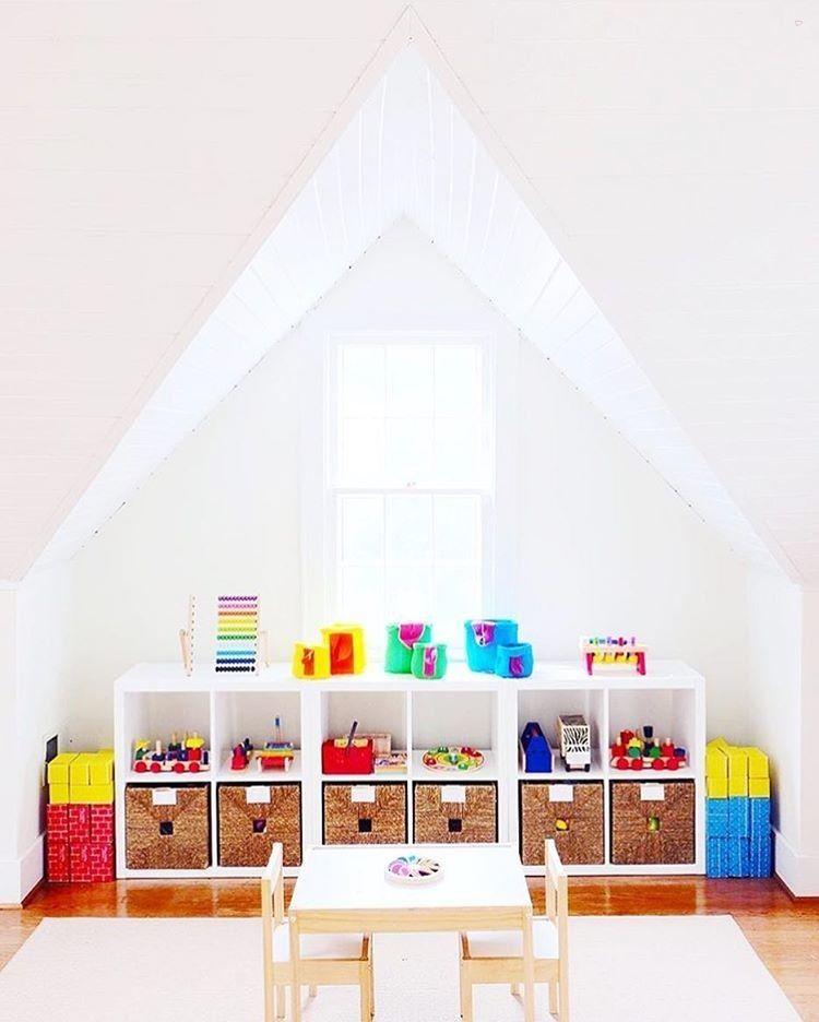 A Bright And Organized Playroom Thanks For The Tag Home Decor Kids Interior Design Ideas Children Toddler Room Boys S