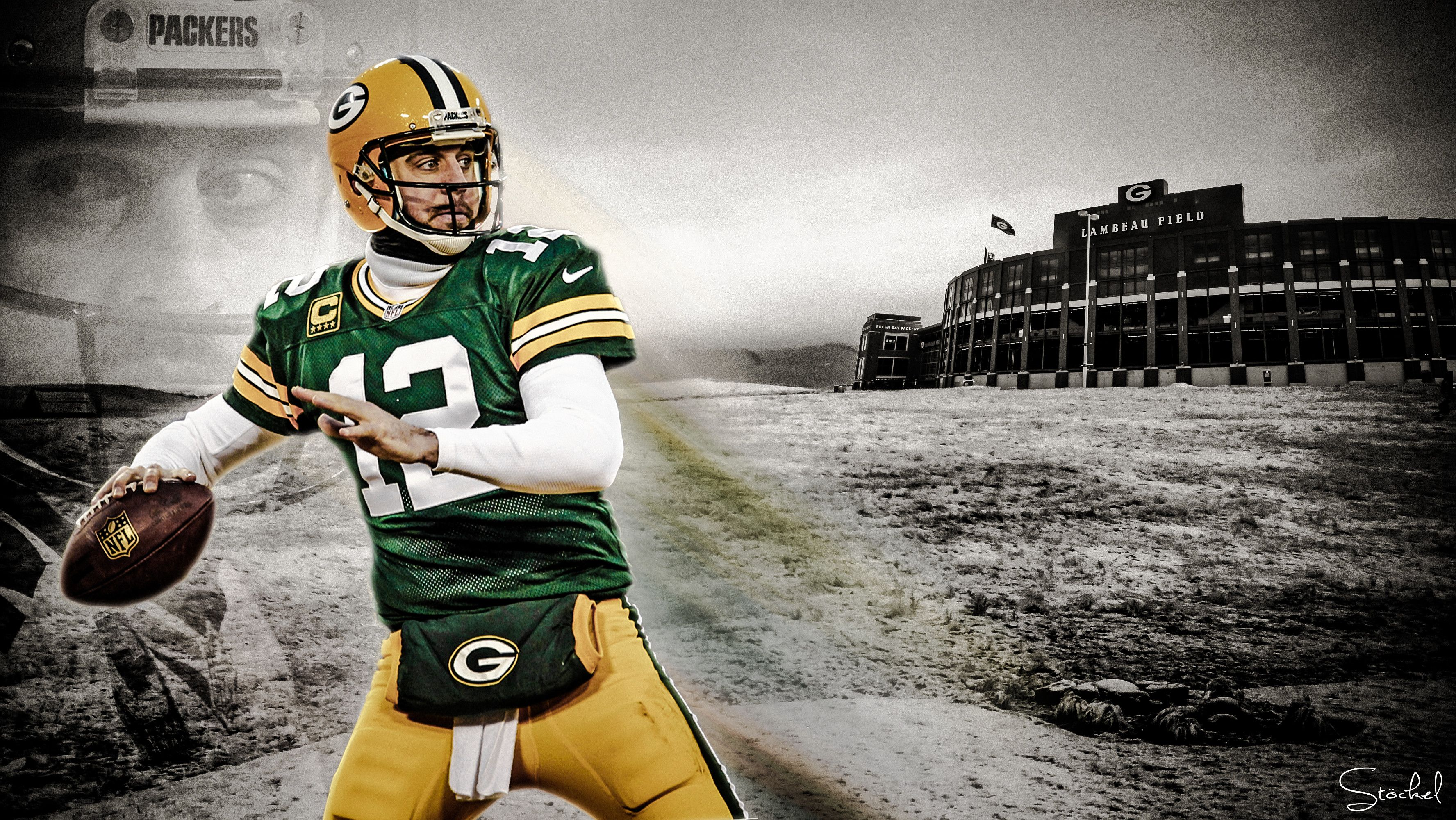 Aaron Rodgers Wallpapers Wallpaper Aaron Rodgers Football Art Lions Rugby