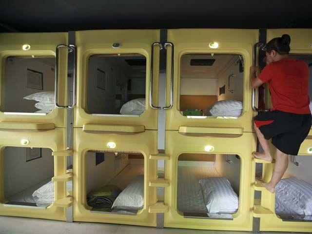 Capsulas Para Dormir Hotel Capsula Hoteles Presupuesto