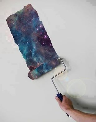Cool Galaxy Paint Room Bedroom Painting