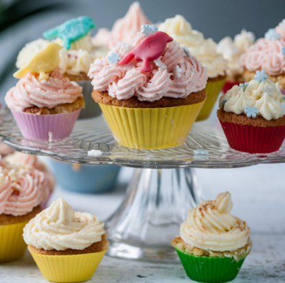 Frances Atkins Party Fairy Cakes Recipe Family Fun Tesco