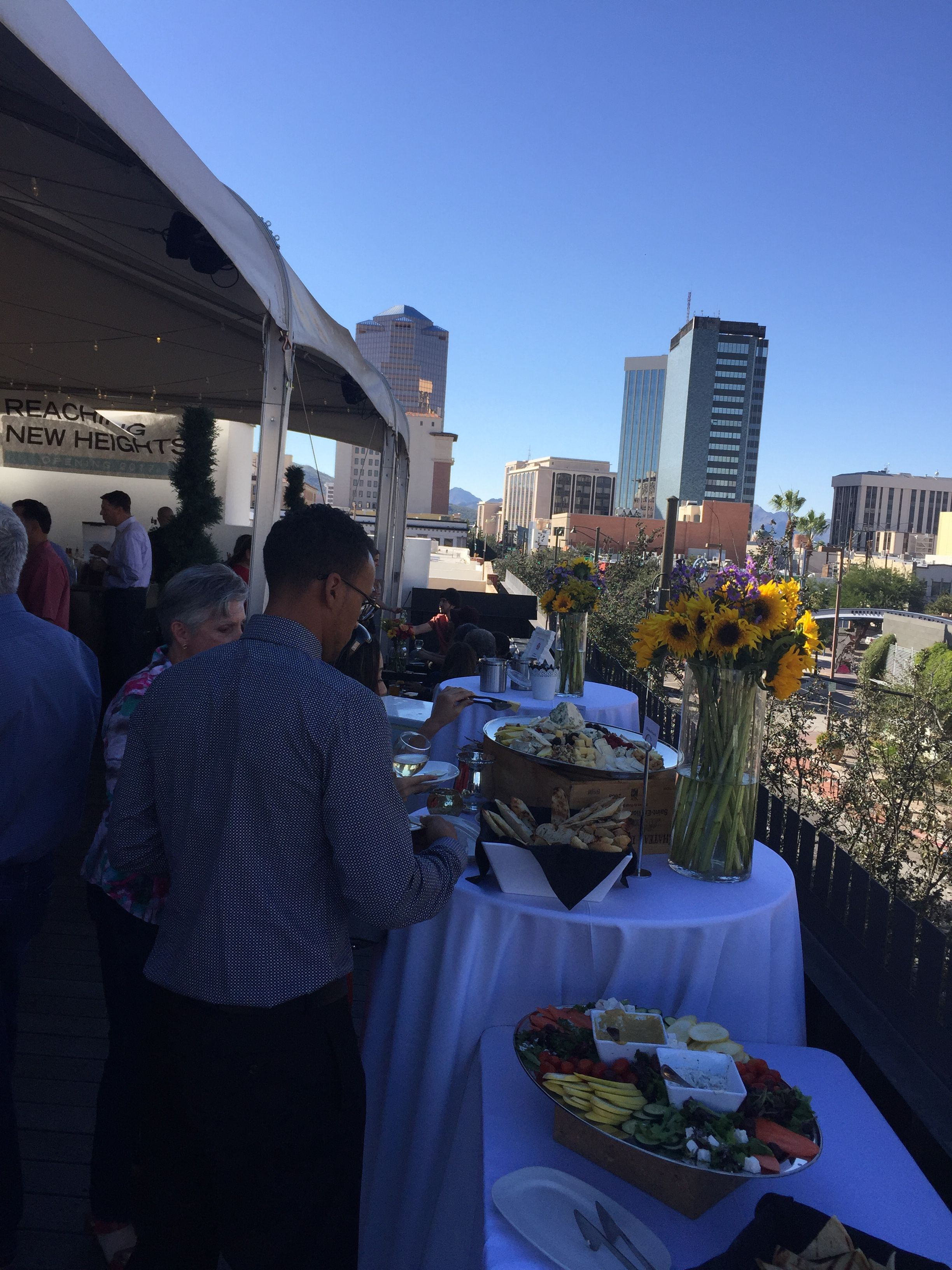 Halloween Events Arizona 2020 Sierra Vista And Tucson View of Downtown from Playground Lounge rooftop at Congress and