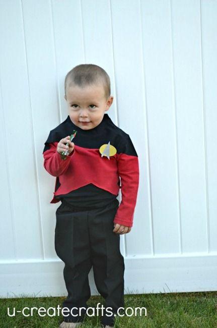 Diy Star Trek Halloween Costume U Create Best Diy Halloween Costumes Star Trek Halloween Costume Boys Halloween Costumes Diy
