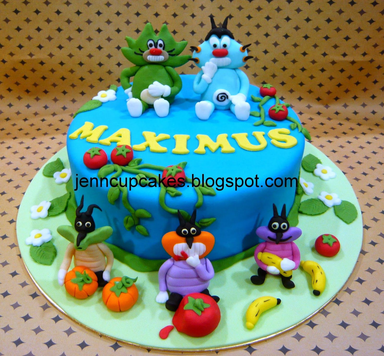 oggy and the cockroaches cake Cerca con Google oggy e paw patrol