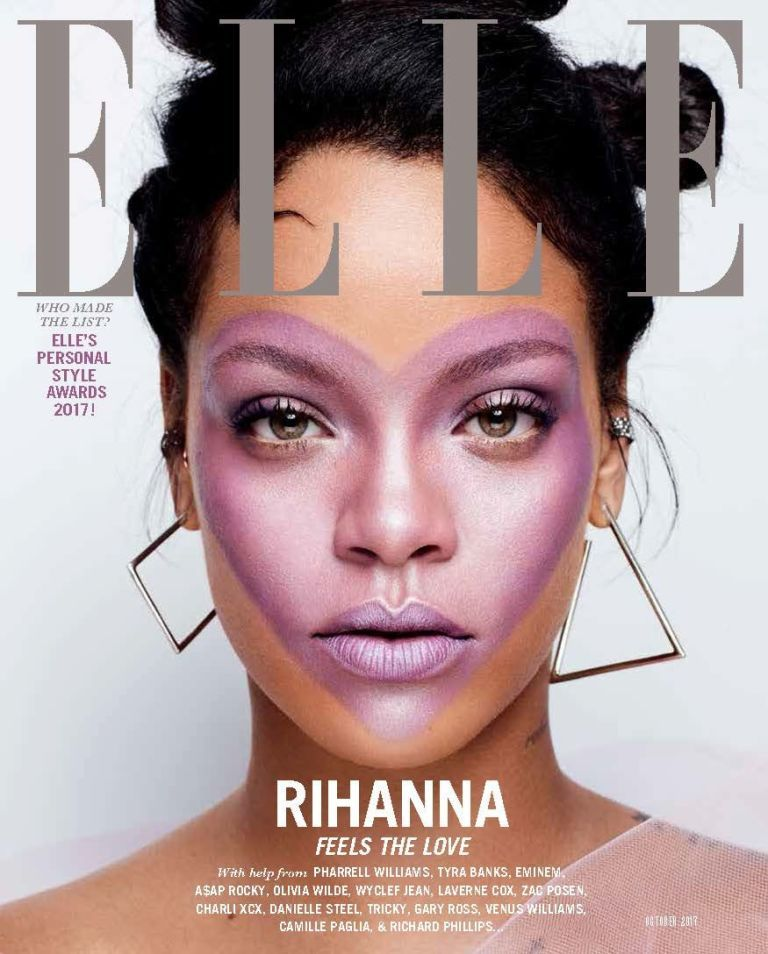 9b6de3f272 RIHANNA Make Up, Magazine Covers, Fashion Magazine Cover, Elle Magazine,  Metal Magazine