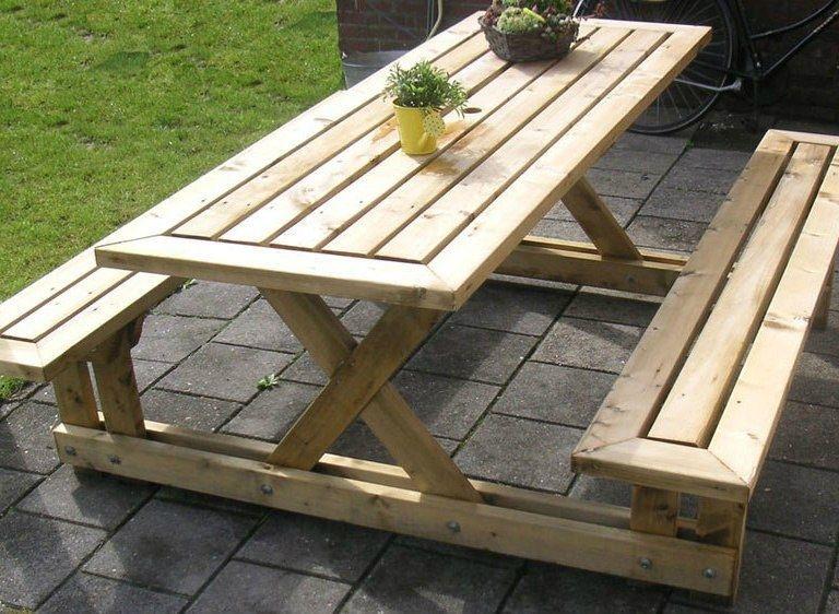 Садовая скамейка для дачи своими руками - 6 проектов 59