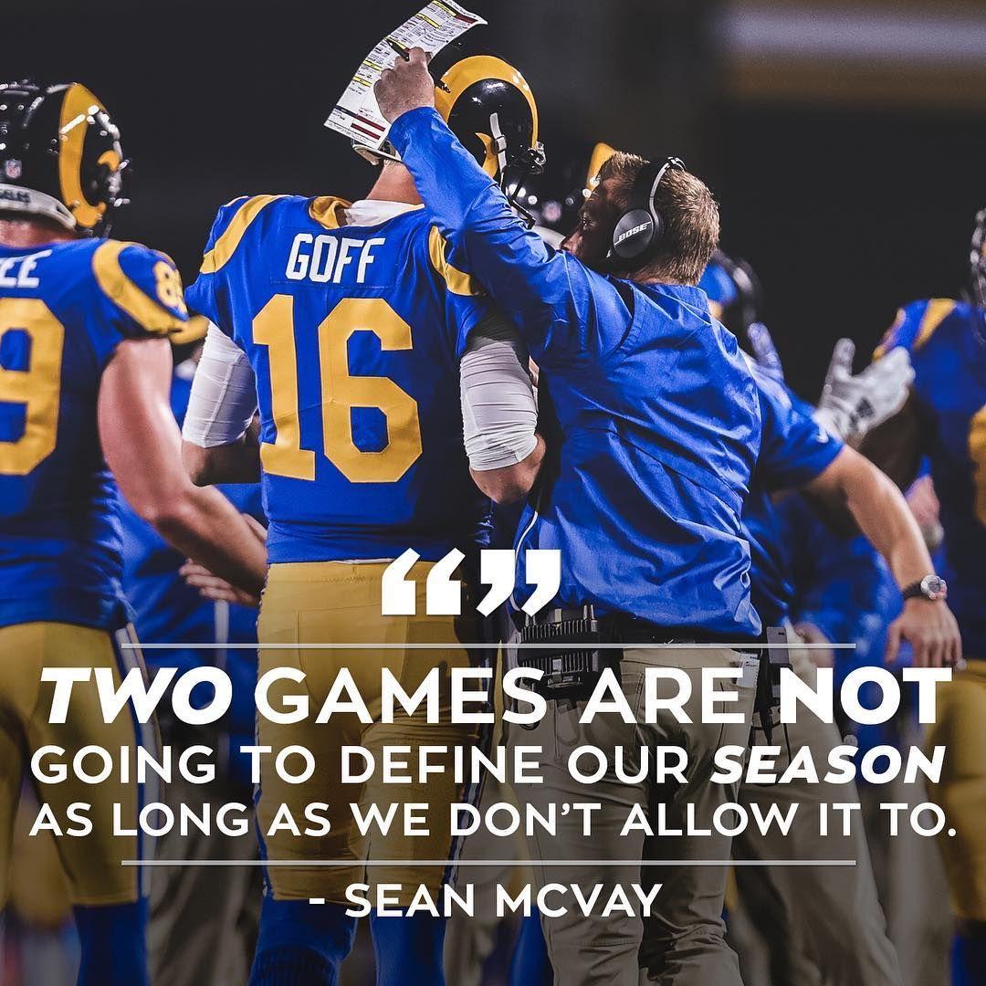 Reset Respond Sean Mcvay Los Angeles Rams La Rams
