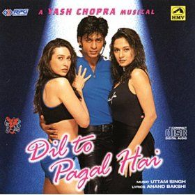 Dil To Pagal Hai Uttam Singh Mp3 Downloads Latest Movie Songs Favorite Movie Quotes Bollywood Movie Songs