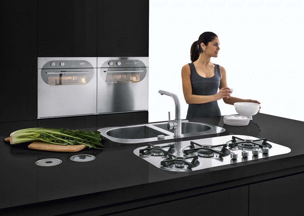 Tao Buitinė Technika Is Barazza Italija Hobs Flush