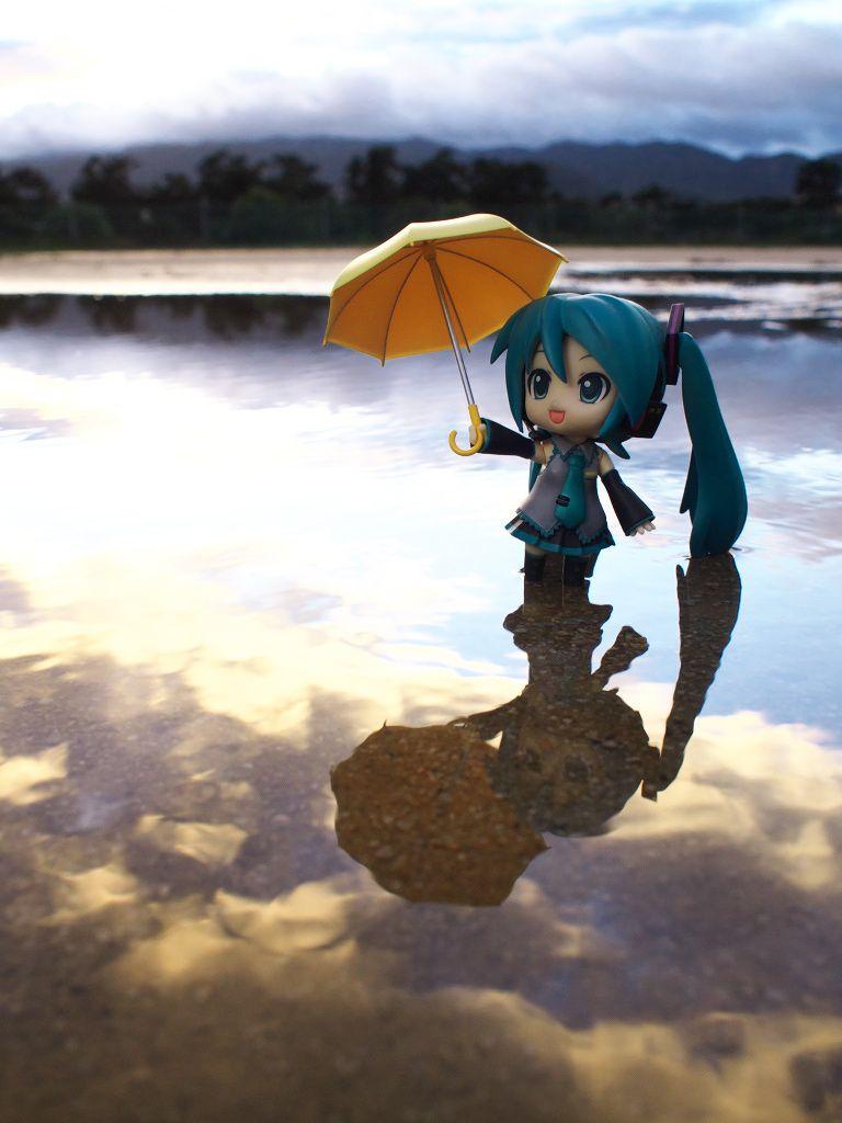 """After the Rain"" Hatsune Miku figure photo by reonov #Hatsune Miku #figure"