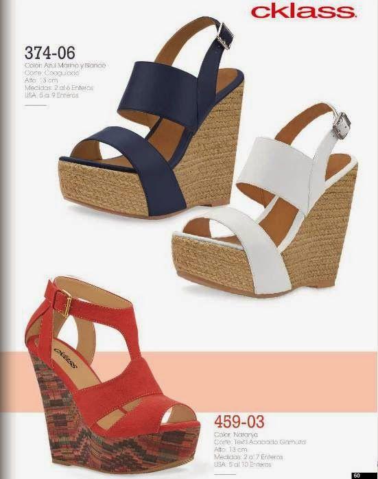 386ac8da Catalogo Cklass Calzado de Mujer Primavera Verano 2015 | Zapatos ...