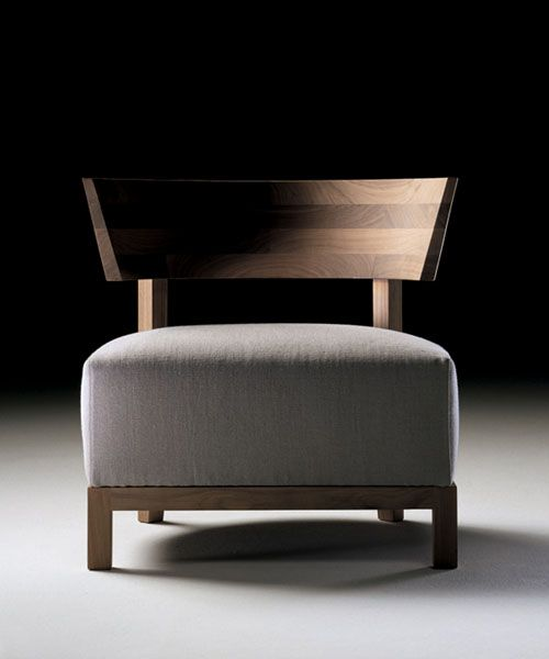 Flexform thomas armchair furniture pinterest muebles - Sofas individuales modernos ...