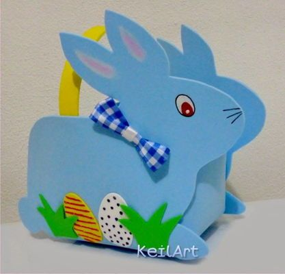 Cesta De Páscoa Em Eva Nyuszikás Pinterest Easter Crafts