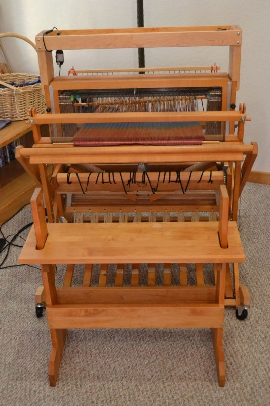 Baby Wolf Loom For Sale, Eight Shaft: | Weavolution 26