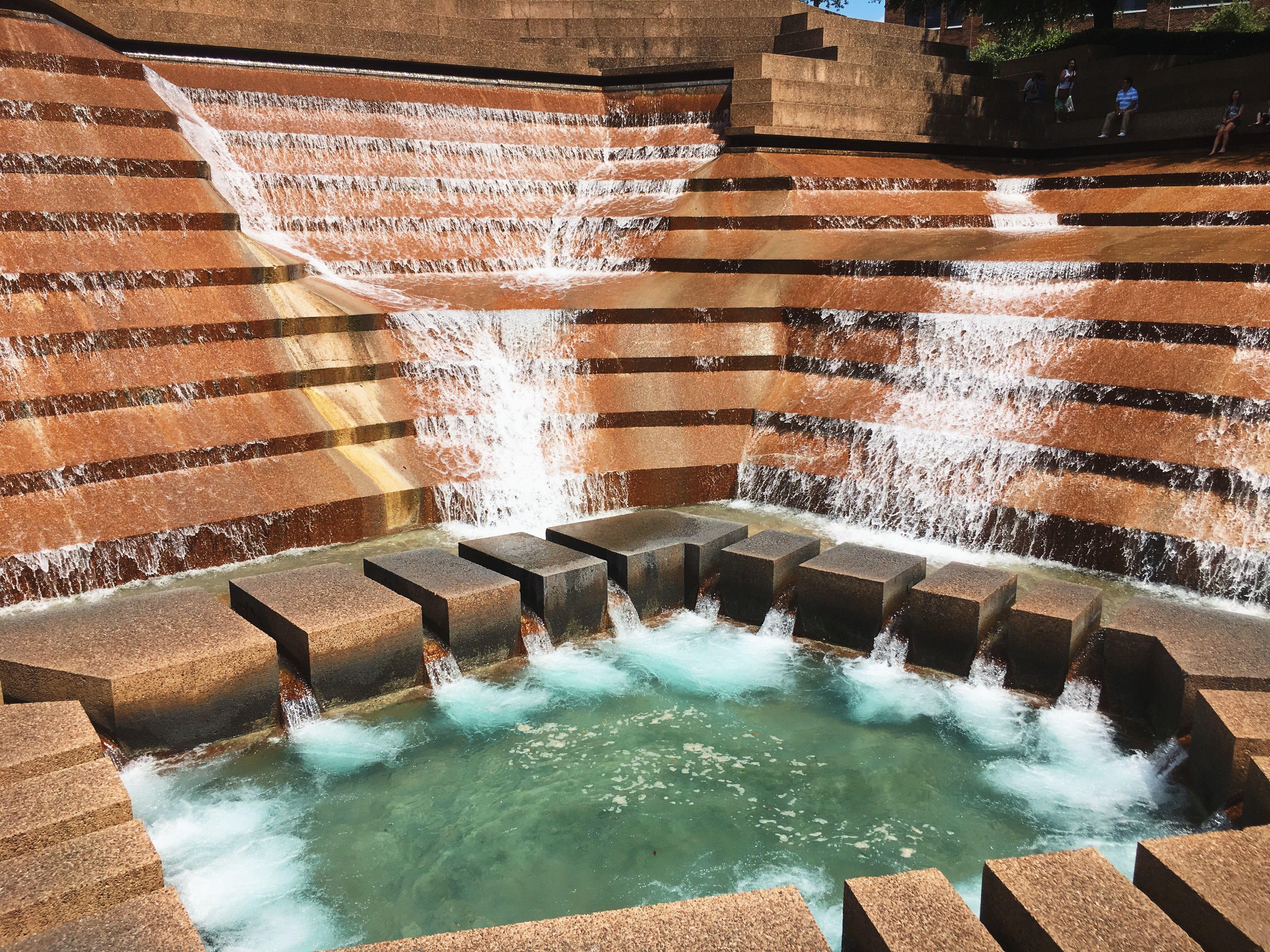 Fort worth water gardens fort worth water gardens