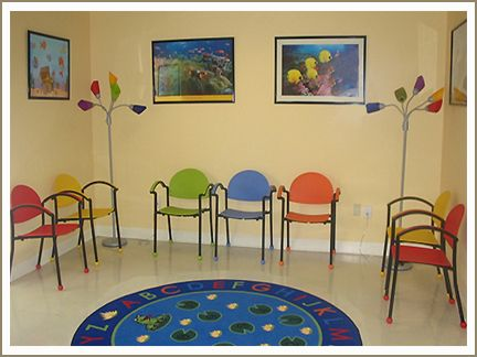 Pediatric Office Sells Colorful Waiting Room