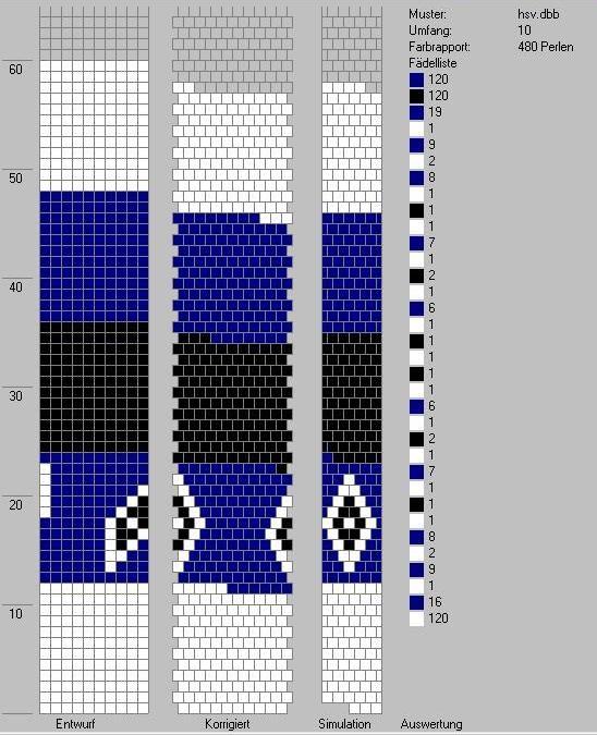 Schlauchketten Häkeln Musterbibliothek Hsv Häkelketten 10