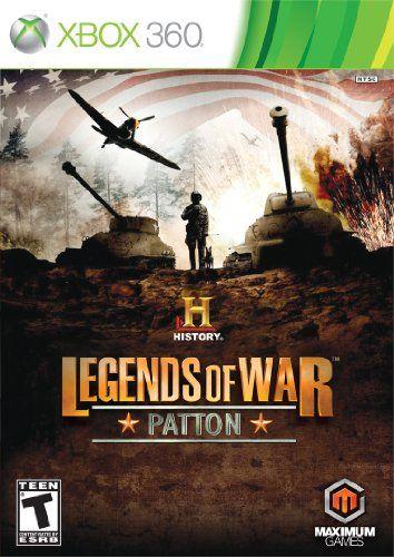 History Legends Of War Patton Jogos De Estrategia Xbox 360 Jogos Campo De Batalha